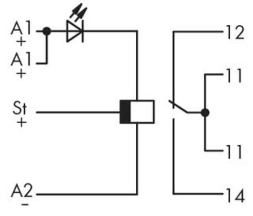 WAGO 286-426 Steekrelais 24 V/DC 5 A 1x wisselaar 1 stuks