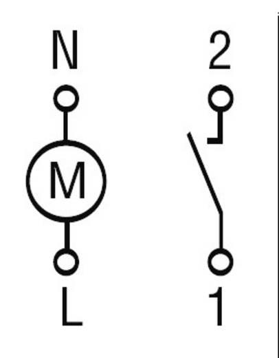 Tijdschakelklok Finder 12.11.8.230.0000 230 V~ 1 NO-contact (AC1) 16 A/250 V~
