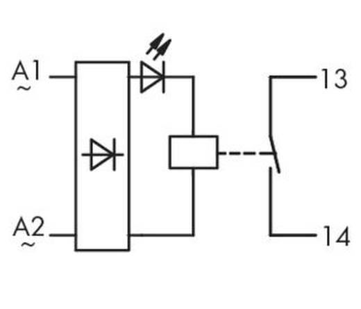 WAGO 286-567 Steekrelais 230 V/AC 5 A 1x NO 1 stuks