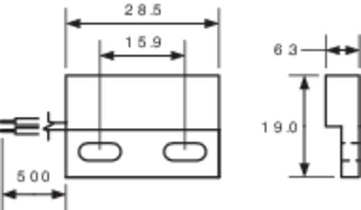 PIC MS-328-3 Reedcontact 1x NO 200 V/DC, 140 V/AC 1 A 10 W