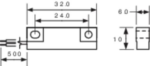 PIC MS-332-3 Reedcontact 1x NO 200 V/DC, 140 V/AC 1 A 10 W