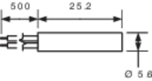 PIC MS-216-3 Reedcontact 1x NO 200 V/DC, 140 V/AC 1 A 10 W