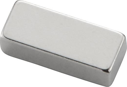Permanente magneet Staaf N35 1.21 T Grenstemperatuur (max.): 80 °C