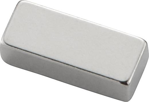 Permanente magneet Staaf N35M 1.21 T Grenstemperatuur (max.): 100 °C