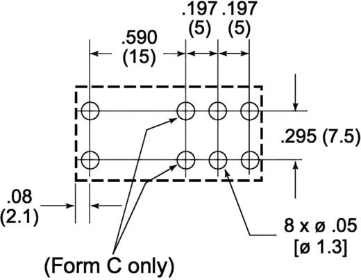 Zettler Electronics AZ733-2C-6DE Printrelais 6 V/DC 10 A 2x wisselaar 1 stuks