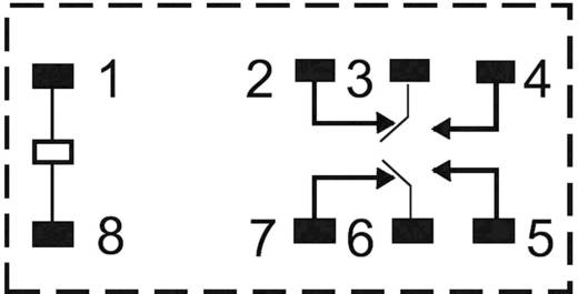 Zettler Electronics AZ733-2C-24DE Printrelais 24 V/DC 10 A 2x wisselaar 1 stuks