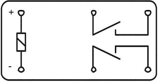 Zettler Electronics AZ881-2A-9DEA Printrelais 9 V/DC 5 A 2x NO 1 stuks