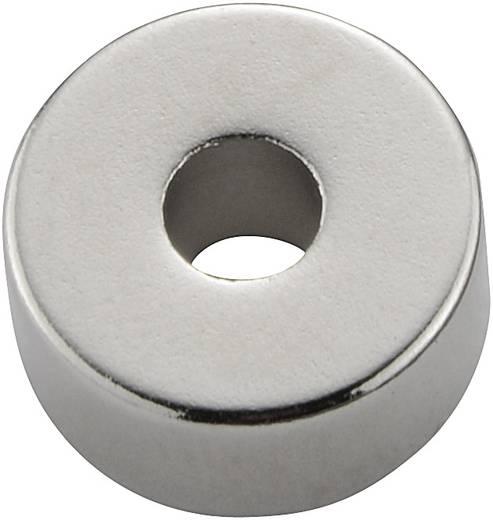 Permanente magneet Ring N35M 1.2 T Grenstemperatuur (max.): 100 °C