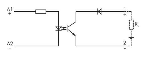 Optocoupler-component WAGO 286-791 Spanningsbereik(en) 15 - 30 V/DC