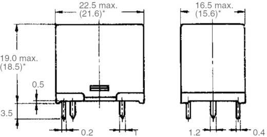 Omron G5LE-1-VD 12 VDC Printrelais 12 V/DC 8 A 1x wisselaar 1 stuks