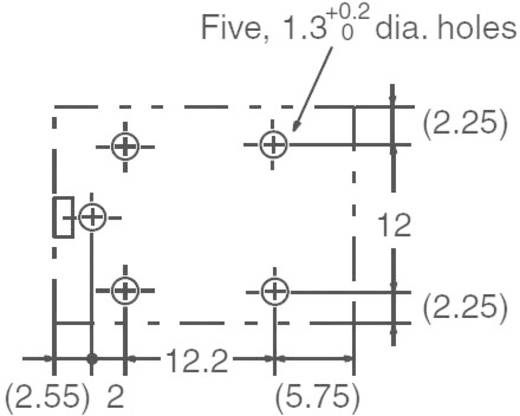 Omron G5LE-1-VD 12 VDC Printrelais 12 V/DC 8 A 1x wisselcontact 1 stuks