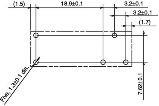 Omron G6RL-14-ASI 5 VDC Printrelais 5 V/DC 10 A 1x wisselcontact 1 stuks
