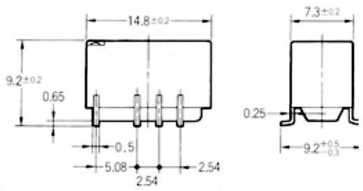 Omron G6S-2F 5 VDC Printrelais 5 V/DC 2 A 2x wisselaar 1 stuks