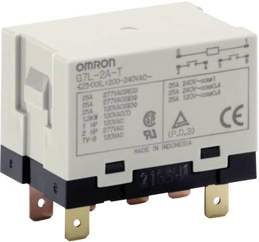 Omron G7L-2A-T 200-240 VAC Steekrelais 240 V/AC 25 A 2x NO 1 stuks