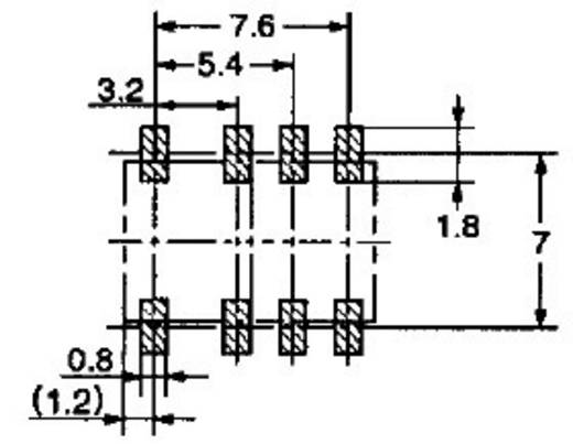 Omron G6K-2F-Y 24DC SMD-relais 24 V/DC 1 A 2x wisselaar 1 stuks
