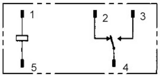 Omron Printrelais 12 V/DC 12 A 1x wisselaar 1 stuks