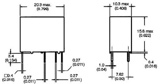 Omron G5Q-1-EU 24DC Printrelais 24 V/DC 5 A 1x wisselaar 1 stuks