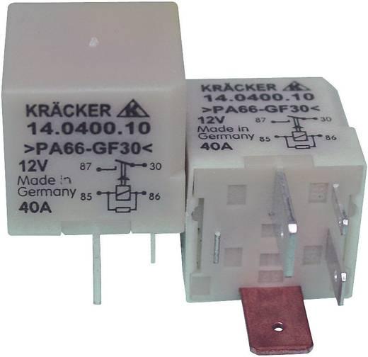 Auto-relais 12 V/DC 40 A 1x NO Kräcker 14.0400.10
