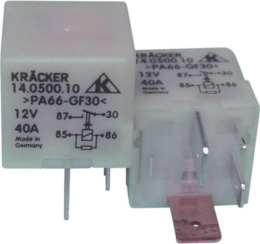 Auto-relais 12 V/DC 15 A 1x NO Kräcker 14.0500.10