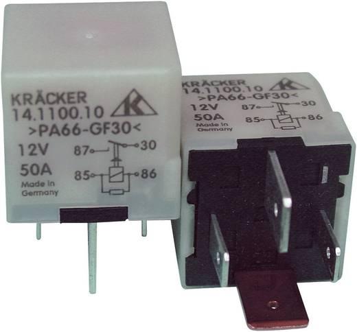 Auto-relais 12 V/DC 40 A 1x NO Kräcker 14.1100.10
