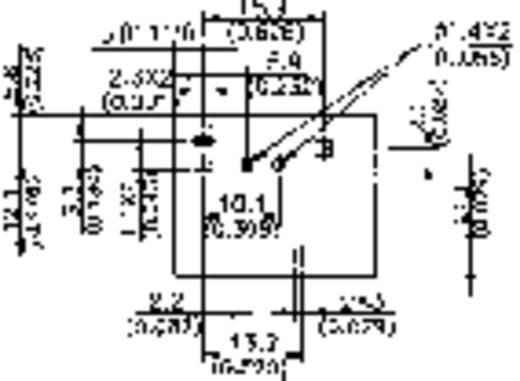 Auto-relais 12 V/DC 40 A 1x NO Song Chuan 822E-1A 12