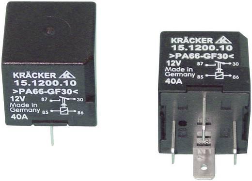 Auto-relais 12 V/DC 40 A 1x NO Kräcker 15.1200.10