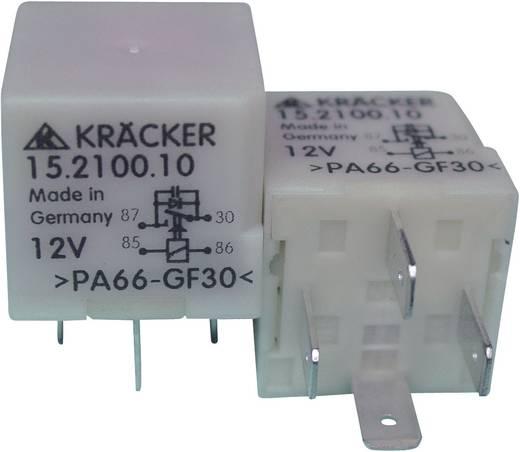 Auto-relais 12 V/DC 15 A 1x NO Kräcker 15.2100.10