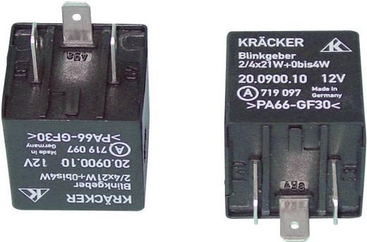 Auto-relais 12 V/DC 20 A 1x NO Kräcker 20.0900.10