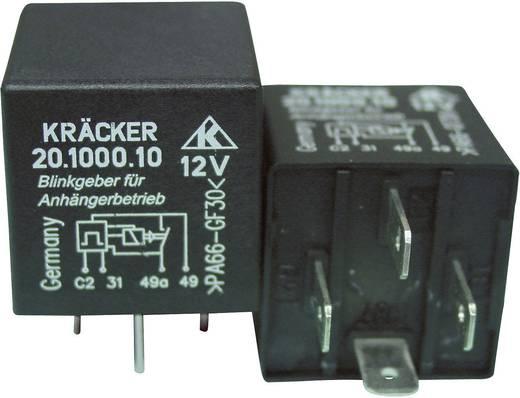 Auto-relais 12 V/DC 20 A 1x NO Kräcker 20.1000.10