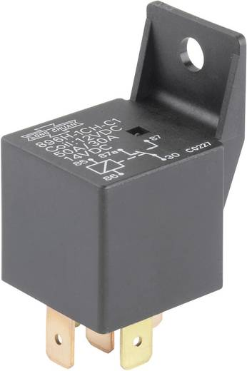 Auto-relais 12 V/DC 50 A 1x wisselaar Song Chuan 896H-1CH-C1 12V DC