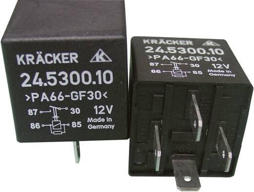 Auto-relais 12 V/DC 20 A 1x NO Kräcker 24.5300.10