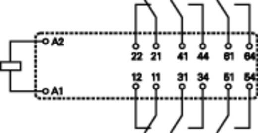 TE Connectivity SR6B6K24 Printrelais 24 V/DC 8 A 4x NO, 2x NC 1 stuks