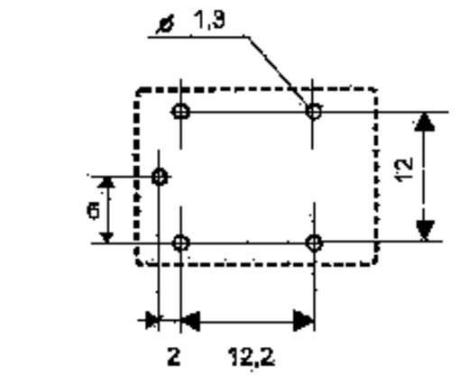 Song Chuan 833H-1C-C 12 Printrelais 12 V/DC 7 A 1x wisselaar 1 stuks