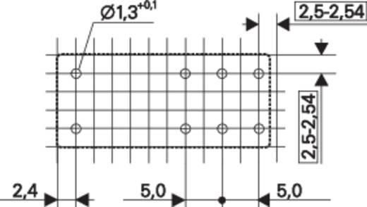 TE Connectivity Printrelais 24 V/AC 8 A 2x wisselaar 1 stuks