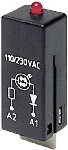 TE Connectivity PTML0024 Steekmodule Met LED, Met veiligheids diode 1 stuks Lichtkleur: Rood Geschikt voor serie: TE Connectivity serie RT