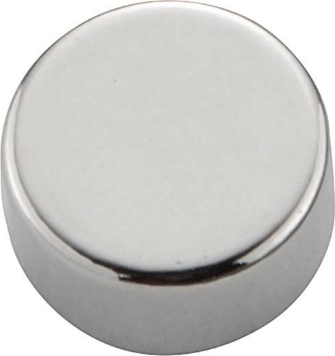 N-35 Permanente magneet Rond N35 1.24 T Grenstemperatuur (max.): 80 °C