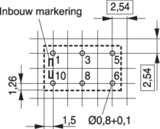 TE Connectivity V23026-A1002-B201 Printrelais 12 V/DC 1 A 1x wisselaar 1 stuks