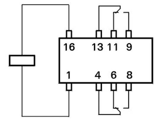 TE Connectivity C93416 Printrelais 5 V/DC 2 A 2x wisselcontact 1 stuks