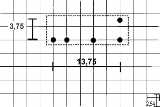 Auto-relais 12 V/DC 20 A 1x wisselaar Hongfa HFKD/012-1ZST