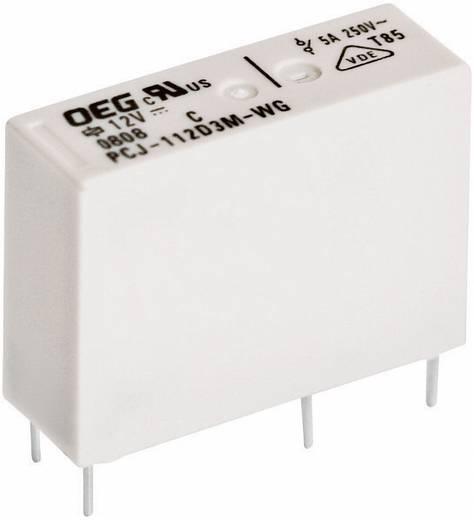 TE Connectivity PCJ-112D3M-WG Printrelais 12 V/DC 5 A 1x NO 1 stuks