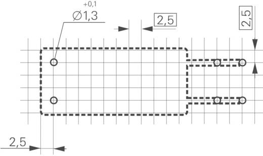TE Connectivity RF334012WG Printrelais 12 V/DC 16 A 1x NO 1 stuks