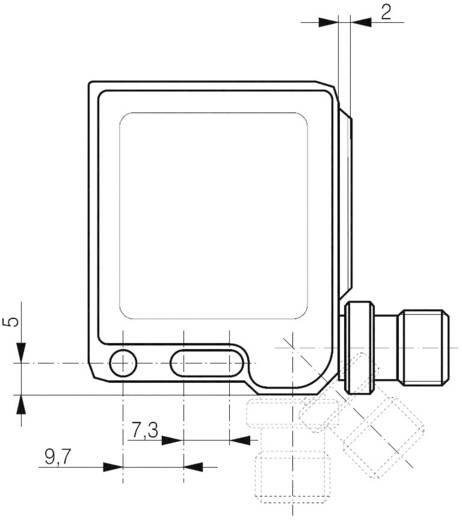 Contrinex FTS-4055-301 Kleursensor 10 - 30 V/DC 1 stuks