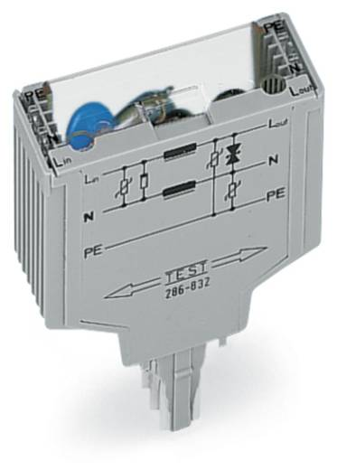 WAGO 286-832 Overspanningsafgeleider 1 stuks Geschikt voor serie: Wago serie 280 Geschikt voor model: Wago 280-628, Wa