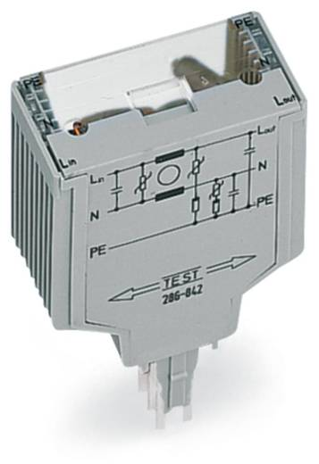 WAGO 286-844 Overspanningsafgeleider 1 stuks Geschikt voor serie: Wago serie 280 Geschikt voor model: Wago 280-629, Wa