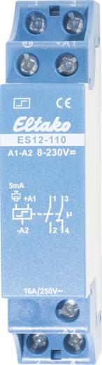 Stroomstootschakelaar ES12-110, 1 sluiter + 1 opener 16 A Eltako ES12-110 8-230 V/UC of 230 V 1 sluiter, 1 opener 16 A (Gloeilampen) 2000 W