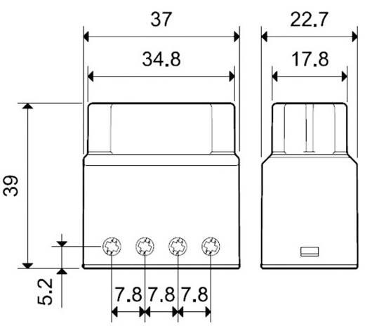 Impulsrelais Finder 13.91.8.230.0000 230 V/AC 1 NO 10 A 230 V/AC (AC1) max. 2300 VA/(AC15) max. 450 VA