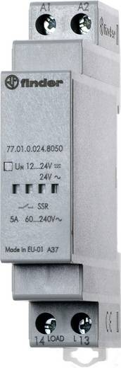 Finder 77.01.8.230.8051 Halfgeleiderrelais 1 stuks Laadstroom (max.): 5 A Schakelspanning (max.): 240 V/AC