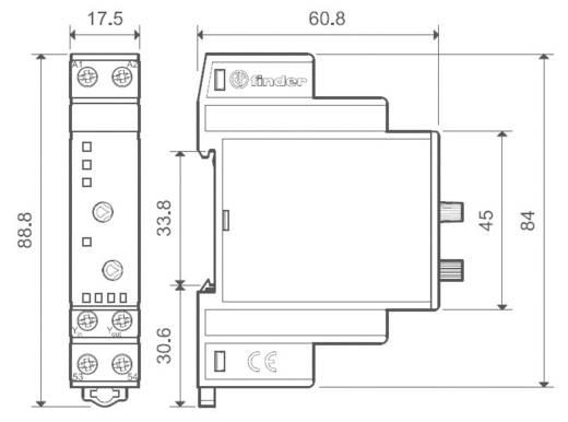 Analoge interventiemodule Finder 19.50.0.024.0000 Analoge-waardegever 0 - 10 V