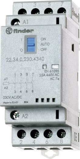Finder 22.34.0.230.4640 Bescherming 1 stuks 2x NO, 2x NC 230 V/DC, 230 V/AC 25 A