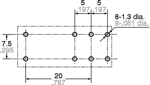 Panasonic ALZ12F24 Printrelais 24 V/DC 16 A 1x wisselaar 1 stuks